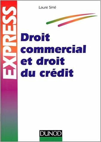 Livre Droit commercial et droit du crédit pdf