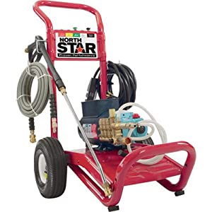 NorthStar Electric Cold Water Pressure Washer - 3,000 PSI, 2.5 GPM, 230 Volt