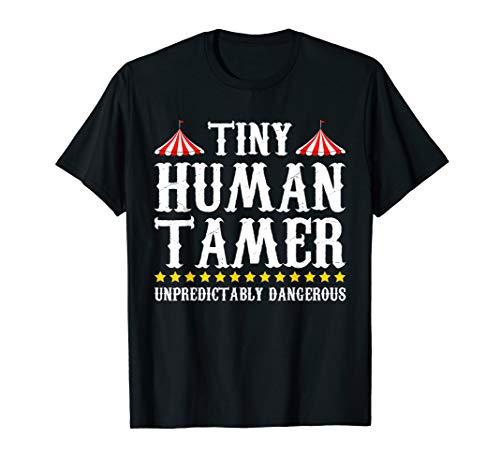 Funny Tiny Human Tamer Circus T-Shirt Gift Idea MM]()