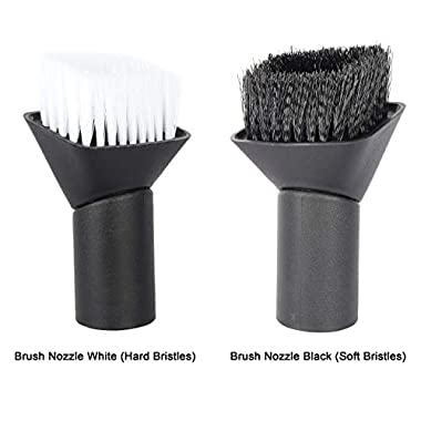 VMTC Brush Kit (Hard & Soft Bristles) for Karcher Vacuum Cleaners WD1, WD2, WD3, WD4, WD5, WD6 7