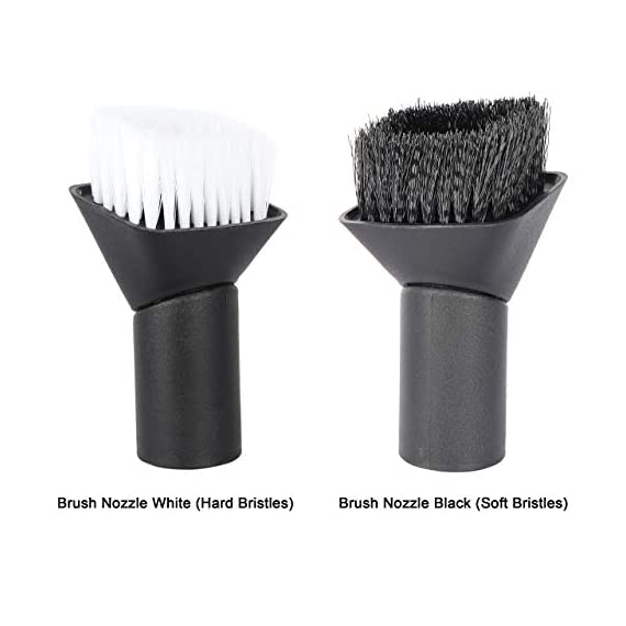 VMTC Brush Kit (Hard & Soft Bristles) for Karcher Vacuum Cleaners WD1, WD2, WD3, WD4, WD5, WD6 2
