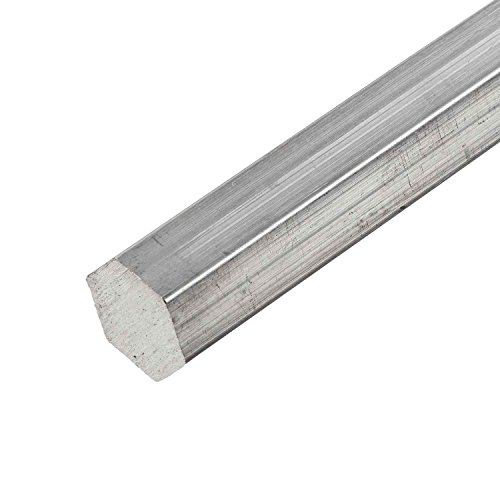 Online Metal Supply 2011-T3 Aluminum Hex Bar, Size: 1.000 (1 inch), Length: 12 inches