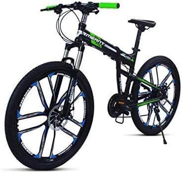 Bicicleta de montaña negro / azul, cuadro de aleación de aluminio ...