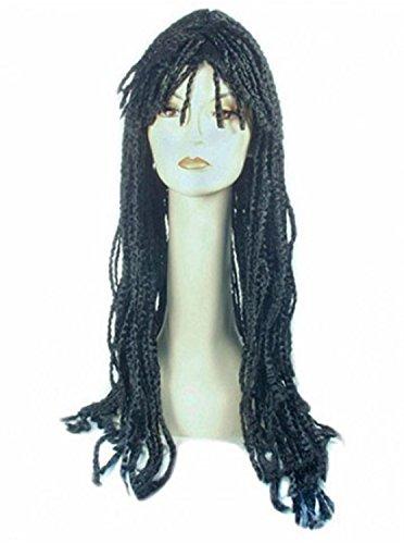 Adult Dreadlock Ii Whoop Deluxe Med Brown Wig (Deluxe Brown Dreadlock Wig)