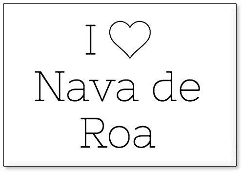 Mundus Souvenirs - Amo Nava de ROA, Imán para Nevera (diseño 3 ...