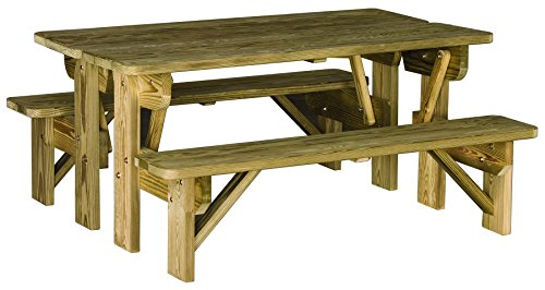 Pressure Treated Picnic Table - 7