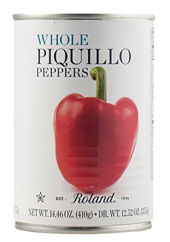 Roland Piquillo Peppers, Whole, 14.46 Ounce (Pack of 4)