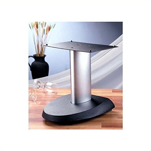 VSPC Series Fixed Height Speaker Stand Finish: Black Pole/Black Base