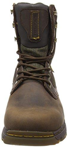 Classici Stivali black Dr Martens Gaucho Marrone Scotswood Uomo 207 Olive Industrial 6qTaTO1w
