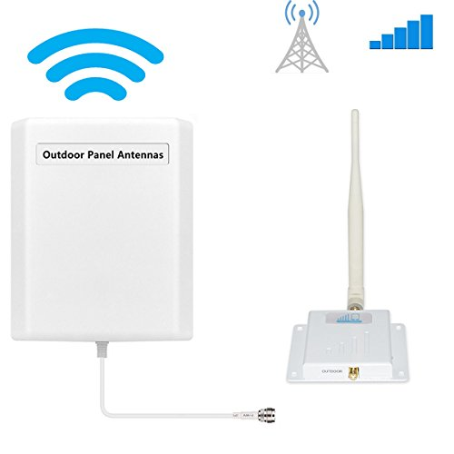 Cell Phone Signal Booster AT&T T-Mobile 4G LTE Cell Booster HJCINTL FDD High Gain Band 12/17 AT T Signal Booster Home Mobile Phone Signal Repeater Amplifier Kit