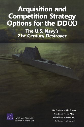 Acquisition and Competition Strategy Options for the DD(X): The U.S. Navy's 21st Century Destroyer