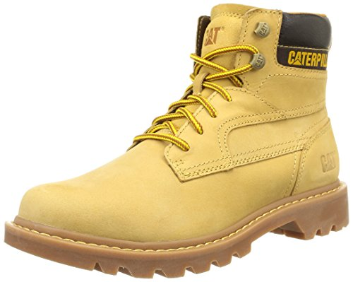 Caterpillar Bridgeport, Stivali Desert da Uomo Giallo (Honey Reset)