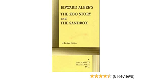 The Zoo Story And The Sandbox Acting Edition Edward Albee