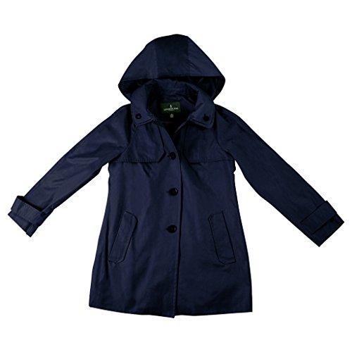 Double Collar Raincoat - 3
