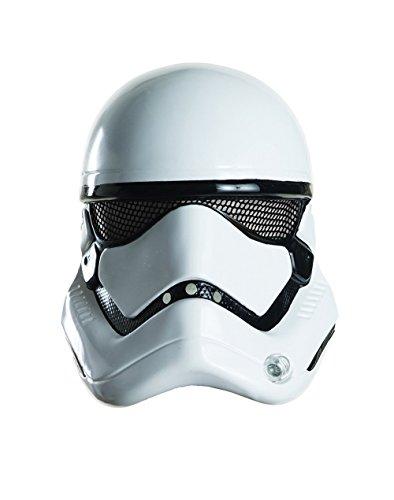 Star Wars: The Force Awakens Adult Stormtrooper Half Helmet, One (Storm Trooper Outfits)