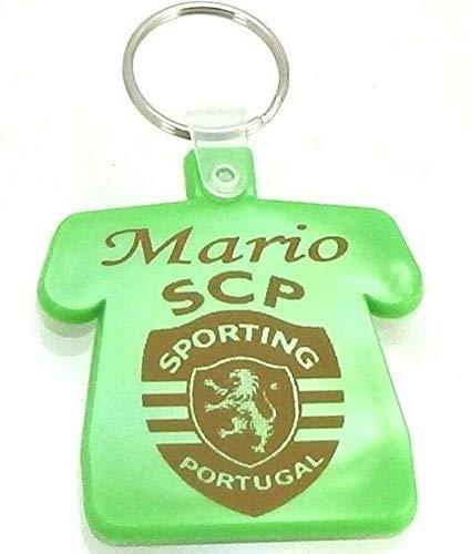 patrickgravure Porte clefs bak/élite grav/é personnalis/é Maillot Foot Portugal Bleu