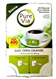 Purevia All Natural Zero Calorie Sweetener - 400 Packets
