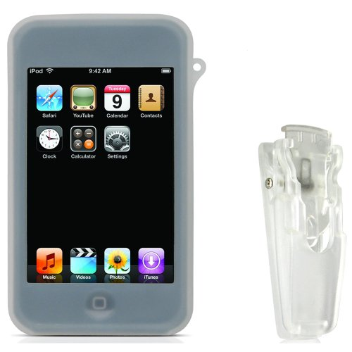 CTA Digital Silicone Case for iPod touch 1G (Clear)