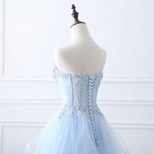Yinyyinhs Longue De Demoiselle D'honneur Bustier Robe De Bal Du Soir Robes De Femmes Une Ligne Hérisse Robe Formelle Jaune