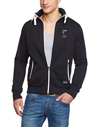jack jones men 39 s jack jones match sweat core hooded long re. Black Bedroom Furniture Sets. Home Design Ideas