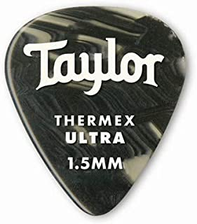 product image for Taylor Guitars DarkTone 351 Black Onyx Thermex Ultra, 6 Pack, 1.5 mm