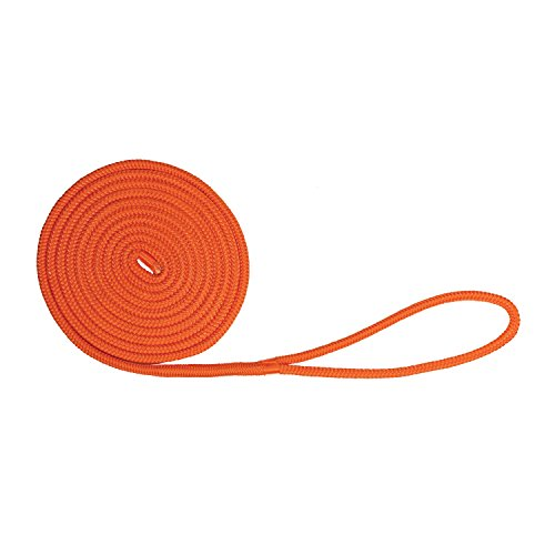 Extreme Max 3006.2429 BoatTector Double Braid Nylon Dock Line - 3/8