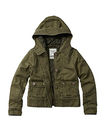 abercrombie-fitch-womens-twill-jacket-m-olive