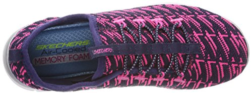Fille Neon 0 Enfiler Baskets Insights Bleu Pink Skechers Appeal 2 II Navy xOvwpy07q