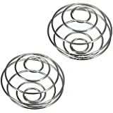 EBYTOP Stainless Blender Mixing Wire Whisk Ball for Shaker Cup Bottle Mixers,2PCS