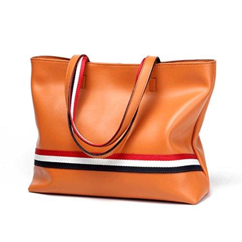 à A Taille à Sac en bandoulière en Sac S Grande Cuir Sac de Linge bandoulière Couleur Bleu à Noir à Main Orange Sac Handbag Taille Sacs Cuir Seau à BPnxgg
