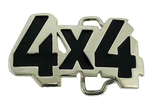 Letter Love Fashion 4X4 Die Cut Racing Truck Turbo Sq Belt Buckle Hebilla Boucle De Ceinture Gift (Hebillas De Rodeo)
