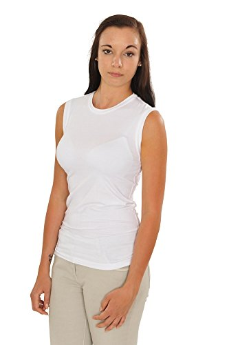 Blanco Casual Mujer Slim Top Brunello It Fit M Algodón Cucinelli 0Ex466wqt