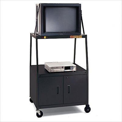 "UPC 096633116812, Bretford BBULC48-C4 UL Listed TV Cart with 2-Outlet Electrical Unit for 27-32"" Televisons"