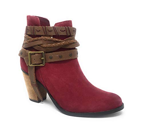 (Naughty Monkey Cuthbert Women's Boot 7 B(M) US Red)