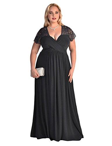 6x plus size formal dresses - 2