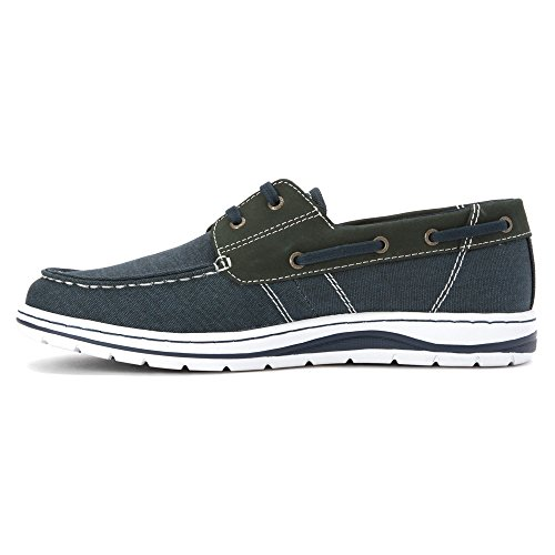 Sebago Hartland Two Eye Herren US 7.5 Blau Slipper