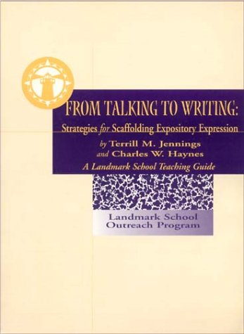 From Talking to Writing: Strategies for Scaffolding Expository Expression