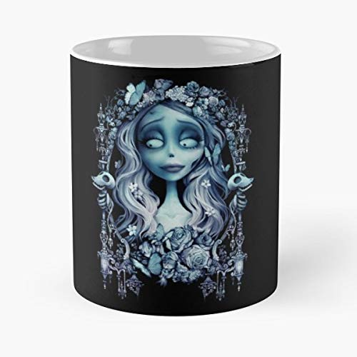 Corpse Bride Emily Creepy - 11 Oz Coffee Mugs Unique Ceramic Novelty Cup, The Best Gift For Christmas.]()