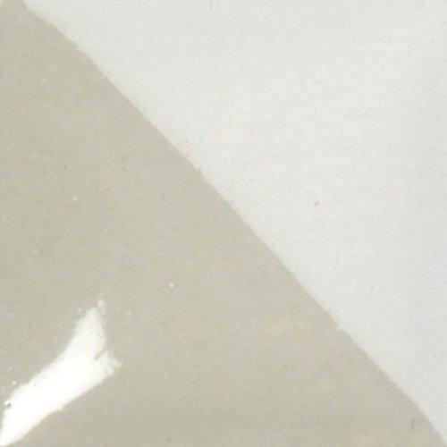 Coat Opaque Cover Underglaze - Duncan Cover-Coat Opaque Underglazes CC 122 Moonstone Grey 2 Ounce Bottle