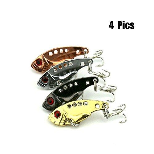 XBLACK Metal Fishing Crankbait Spinner