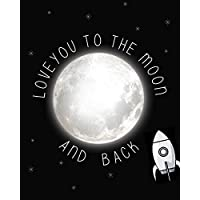 Love You to the Moon and Back Children's Wall Art Print...