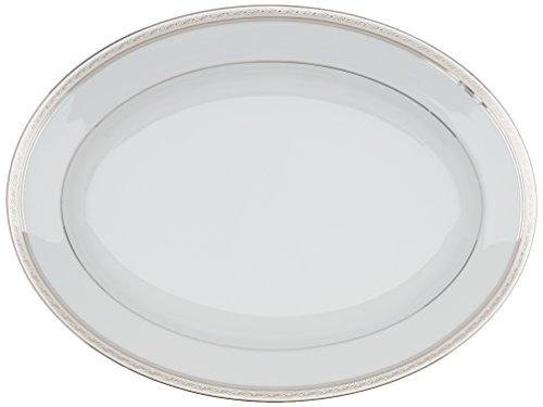 Noritake Crestwood Platinum 16-Inch Oval Platter ()