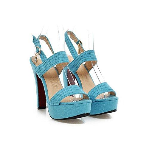 Inconnu Bleu Femme 5 EU MJS00385 1To9 Pour 35 Sandales InPwtqrBxI