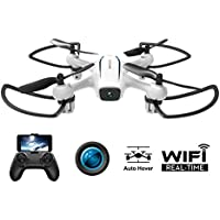 Wave Razor RTF Wifi Real Time Transmission Drones with 120 Degree Wide Angle FPV HD Camera(720P/1280x720)