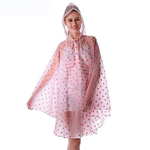 Bike De Moda Hx Poncho 1 Con Aire Al Rain Mujeres Escoge Jacket Cordón Viaje Lunares Transparente Ropa Raincape Basic Libre Fashion CfwCXxqtYp