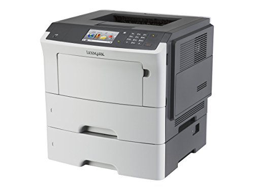 Lexmark MS610dte Black-and-White Laser Printer White 35S0550
