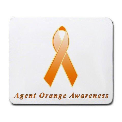 Agent Orange Awareness Ribbon Mouse Pad ()