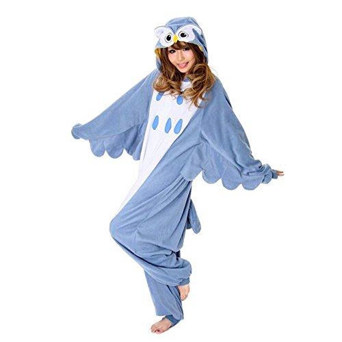 Itopfox-Unisex-Cartoon-Anime-Cosplay-Polar-Fleece-Pajamas-Onesies-Couple-Homewear