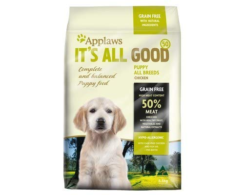 APPLAWS ITS All Good Dry Dog 50% Puppy All Breeds 5.5KG (A5306)