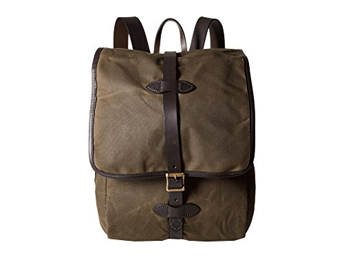 Filson Unisex Tin Cloth Backpack Otter Green 1 One Size ()